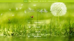 Osteopaatin verkkosivujen yläosa