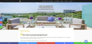 Kiinteistönvälistysfirma Propropertiesin verkkosivu